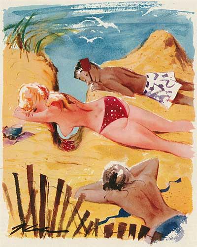 50s Playboy Cartoonist Jack Cole