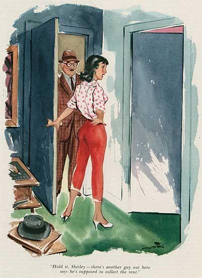 50s Playboy Cartoonist Al Stine