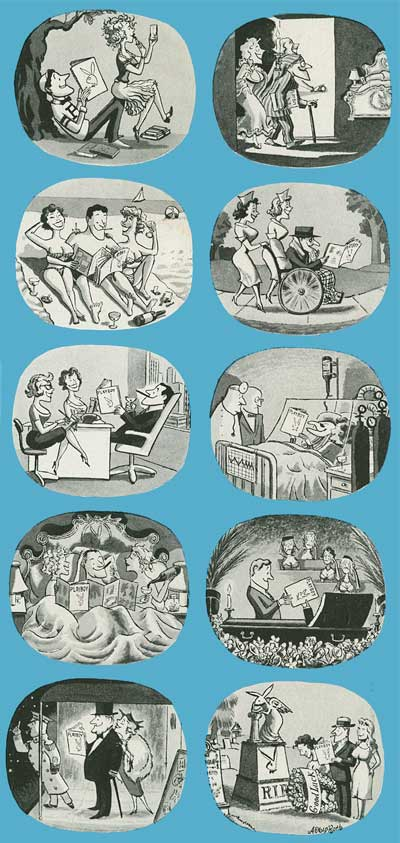 50s Playboy Cartoonists