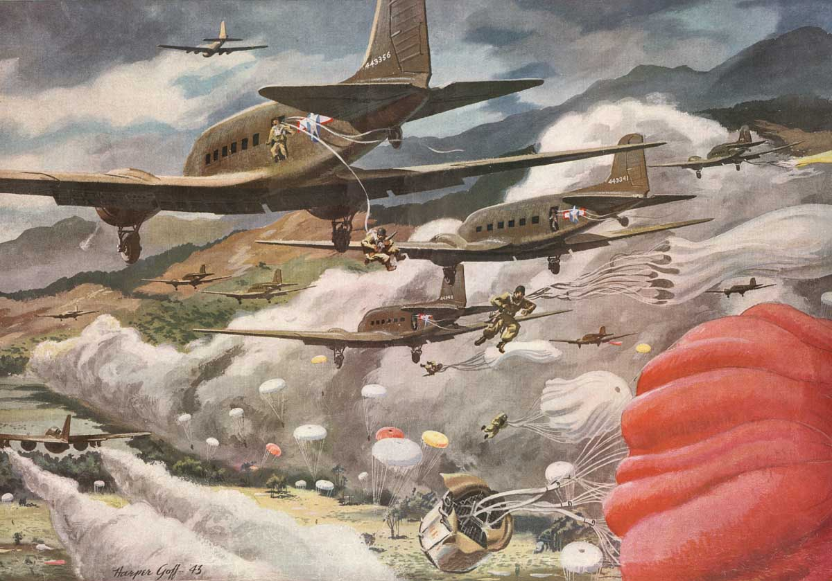 Painting Aviation Artwork