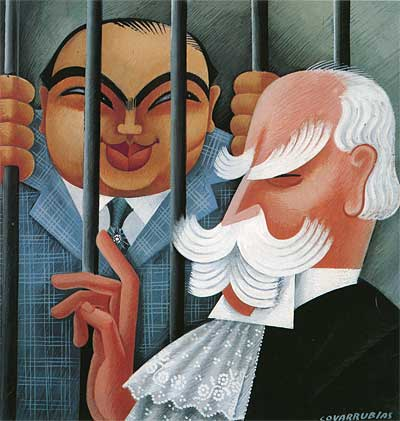 Miguel Covarrubias Caricature
