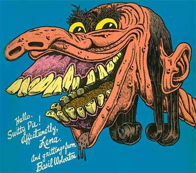 Basil Wolverton Lena the Hyena