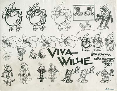 Berny Wolf Model Sheet