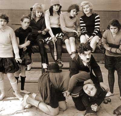 Chaplin imitator, Billy West