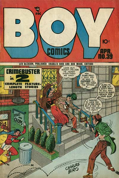 Boy Comics Norman Maurer