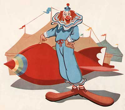 Bozo And His Rocket Ship
