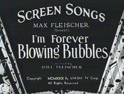 Fleischer Screen Songs