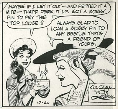 Al Capp and Bob Lubbers Long Sam