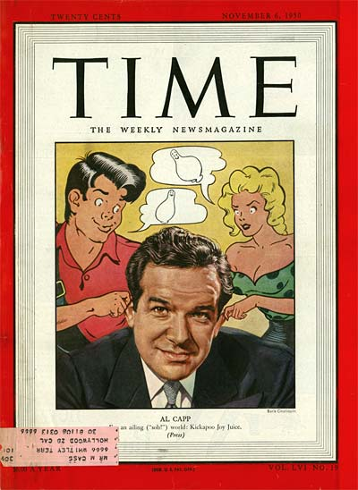 Al Capp in Time