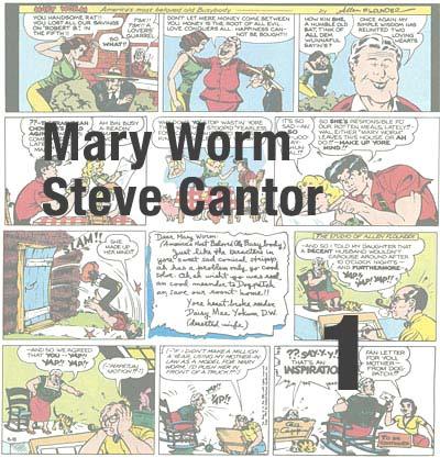 Al Capp Mary Worm Steve Cantor