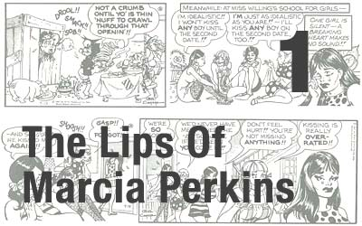 Al Capp Lips Of Marcia Perkins