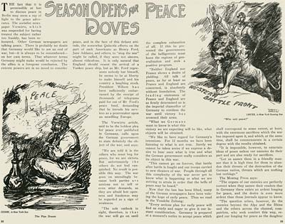 WWI Cartoons