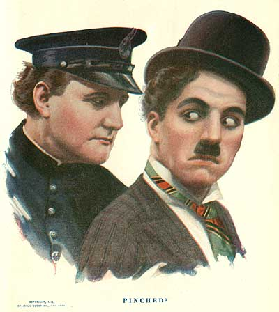 Edgar Kennedy and Charlie Chaplin