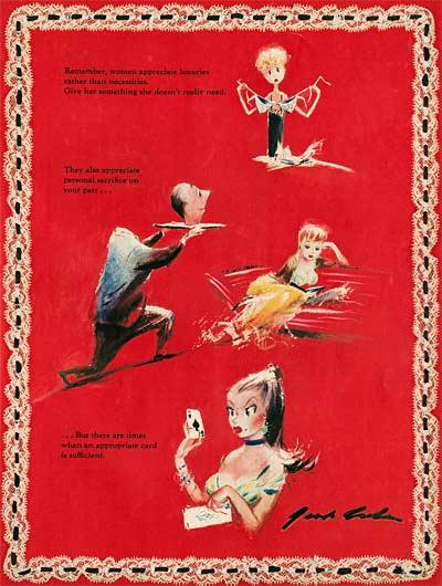 Jack Cole Shel Silverstein Valentine Gift