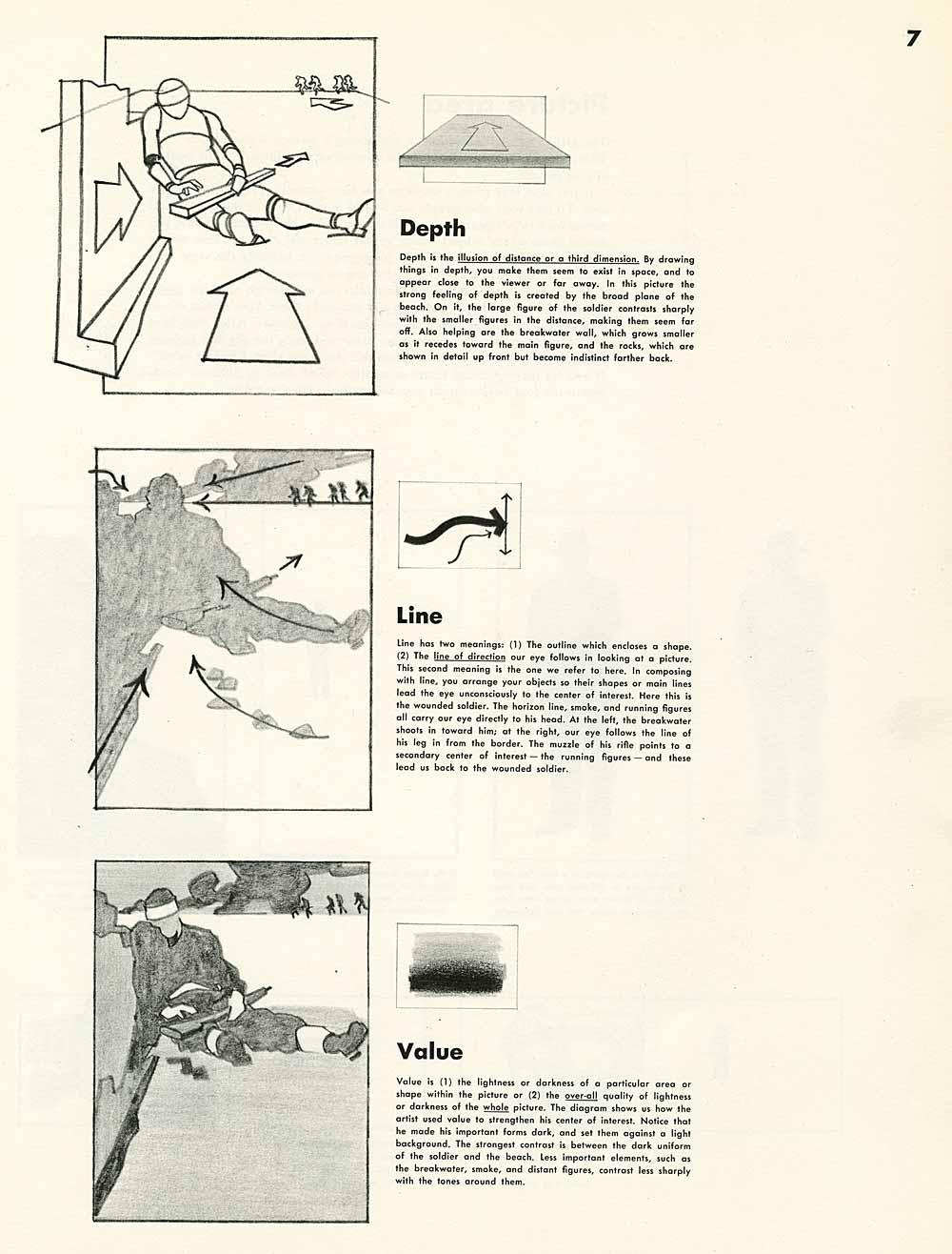 line composition images