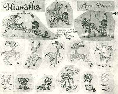 Model Sheets by Hurter and Thorson