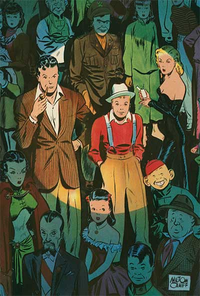 Milton Caniff Terry and the Pirates Steve Canyon