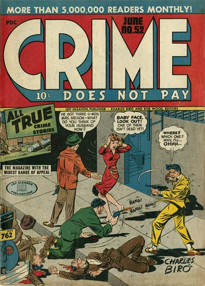 Crime Does Not Pay Charles Biro