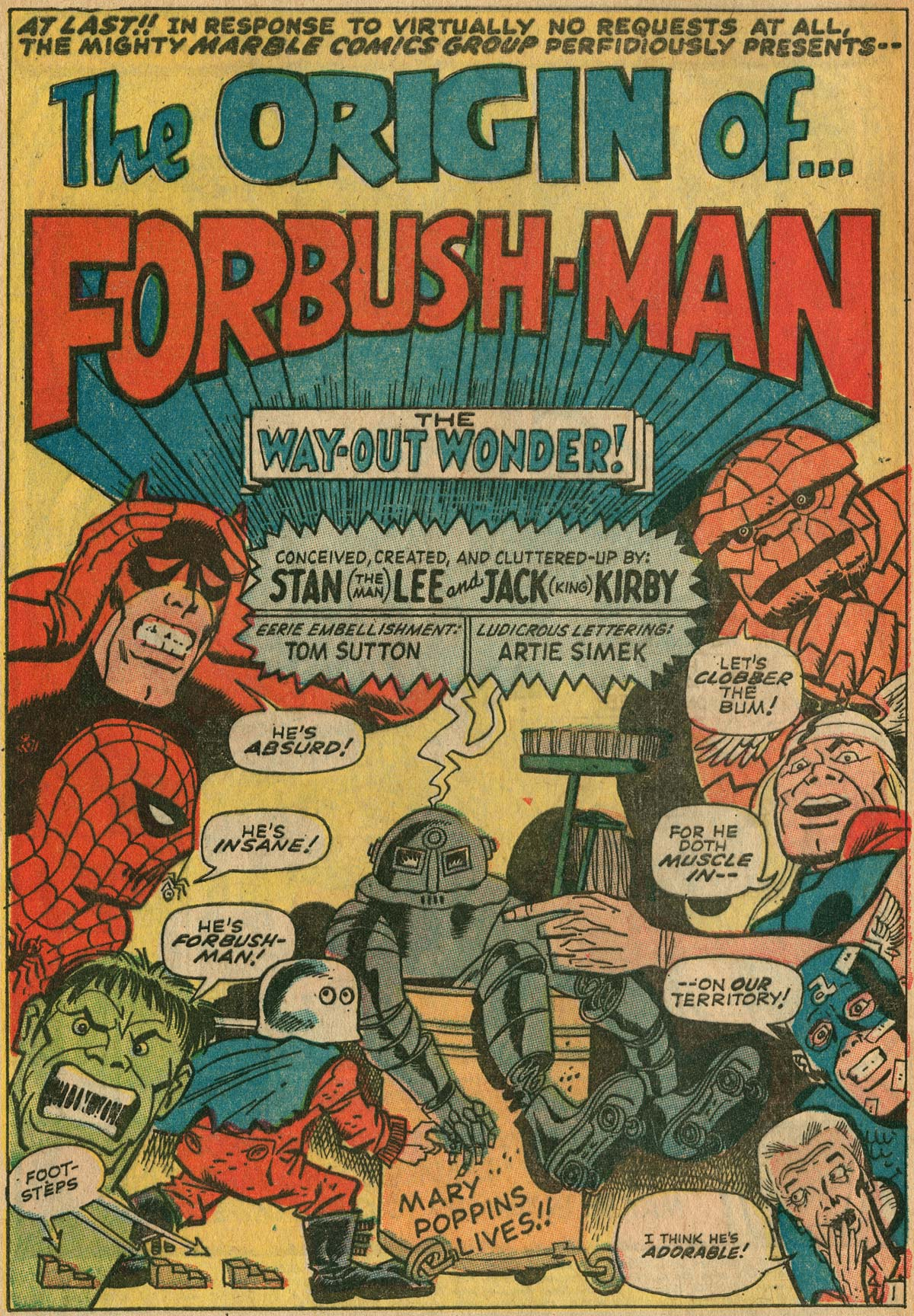 Comic Books Kirby And Severin In Not Brand Echh