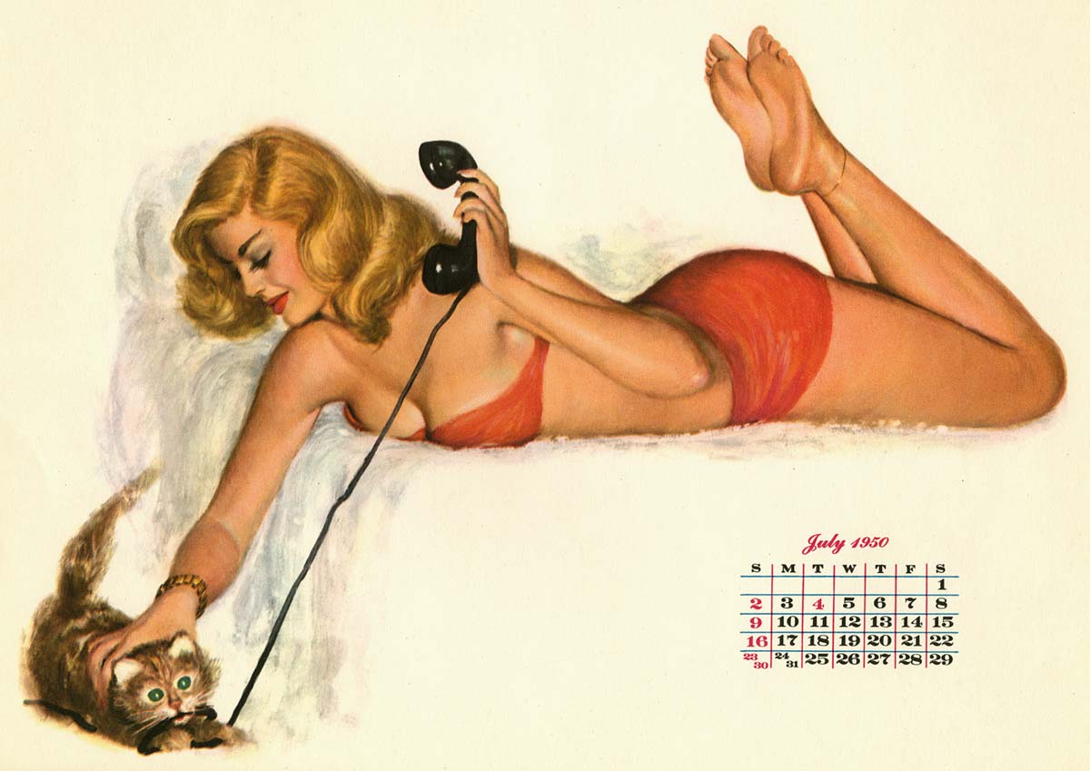Pinups: Al Moore Girls From Esquire - AnimationResources.org - Serving ...