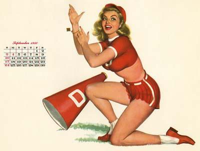 Al Moore Calendar Girls from Esquire