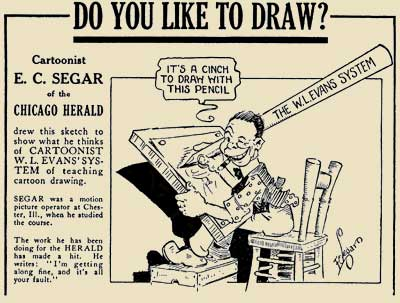 W L Evans Cartooning Course