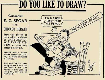 W L Evans Cartooning Course