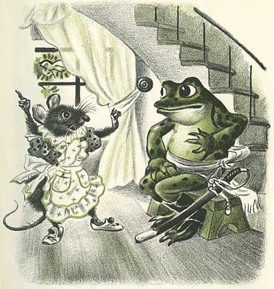 Rojankovsky Frog Went A Courtin