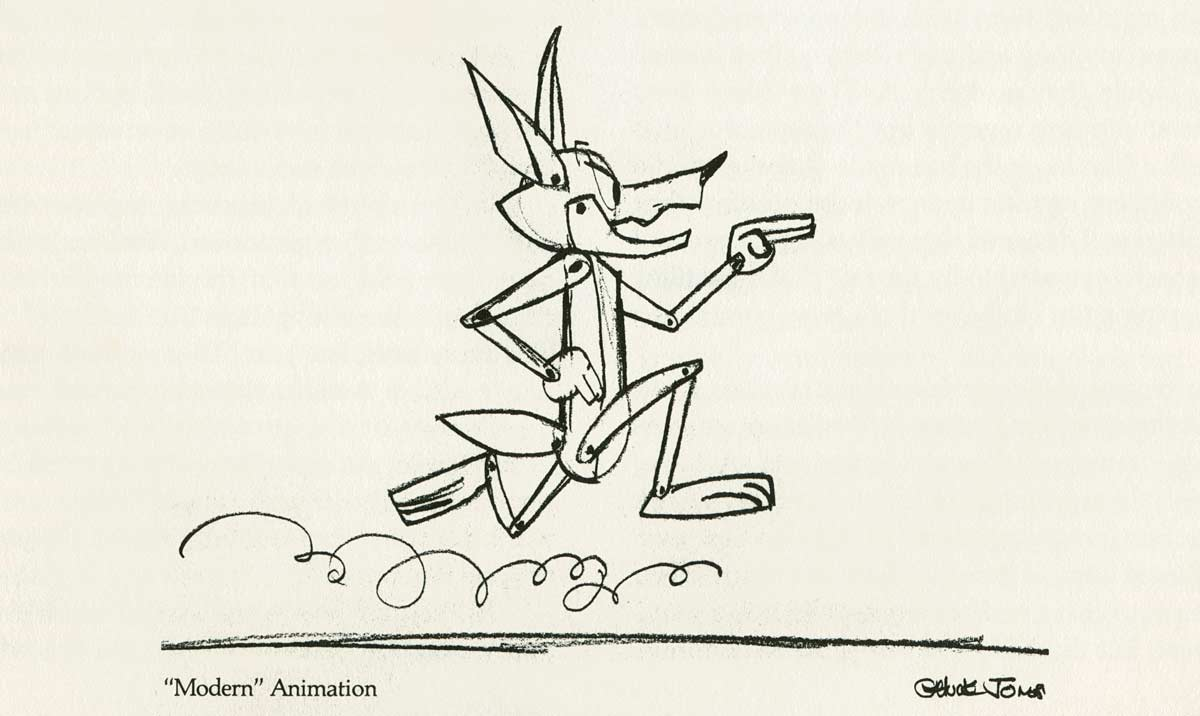 Chuck Jones Layout MODERN Animation