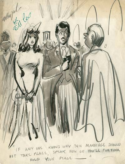 Bill Wenzel and Stanley Rayon Girlie Comics