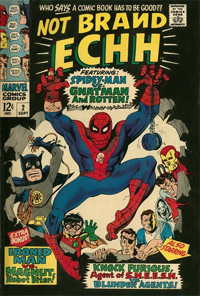 Marie Severin Marvel Not Brand Echh