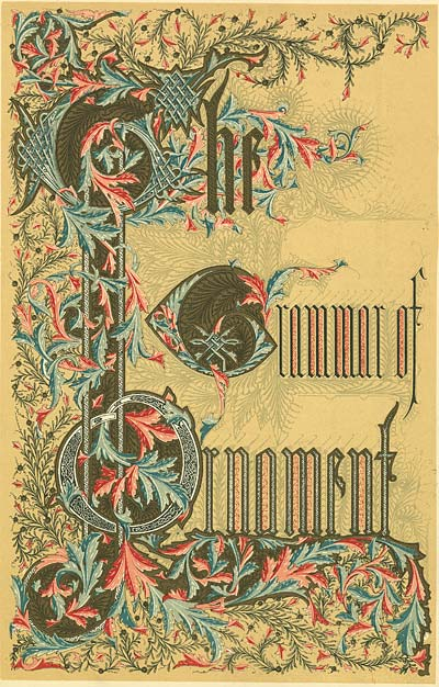Grammar of Ornament