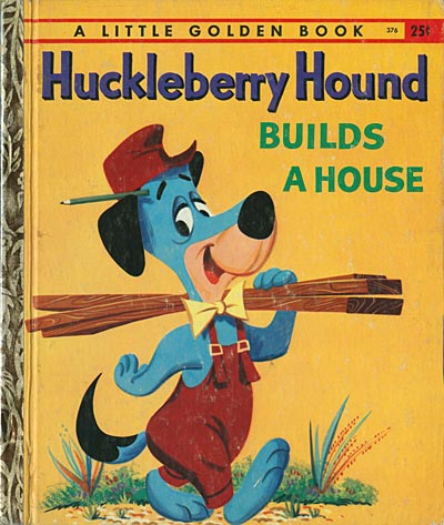 Huck Hound Builds A House