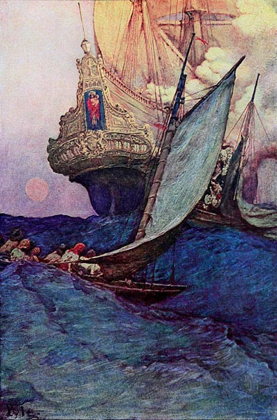 Howard Pyle Illustrations