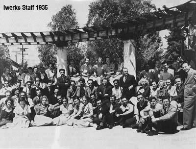 Iwerks Staff 1935