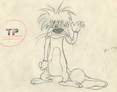 MGM Animation Drawing