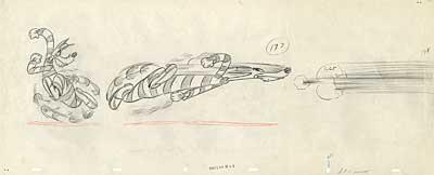 MGM Animation Drawing