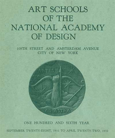 National Academy of Design 1931