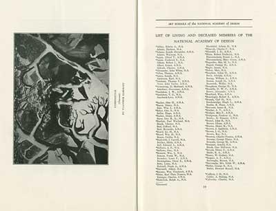 National Academy of Design 1931