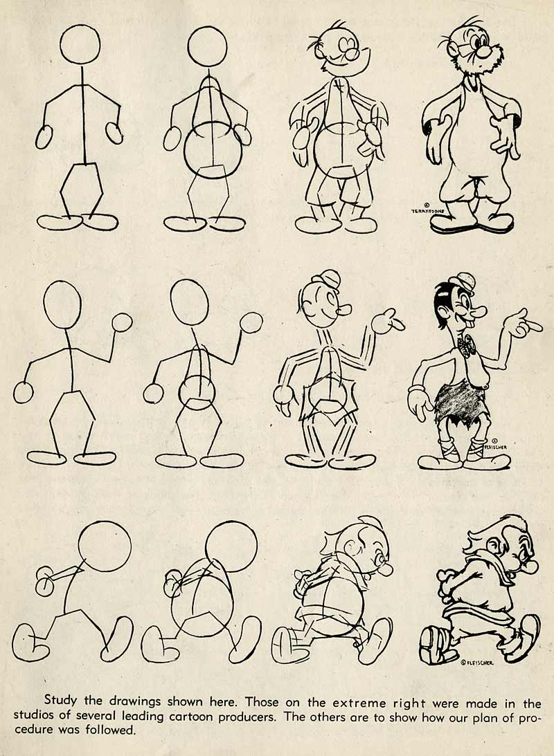 How To Draw Cartoons The Old Fashioned Way