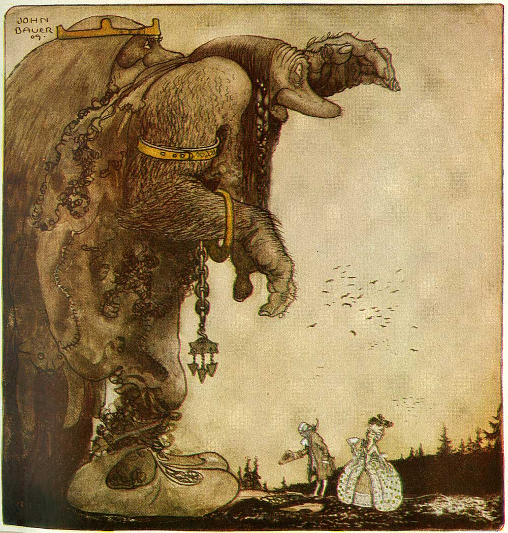 john bauer Archives - ... Yule Fairy
