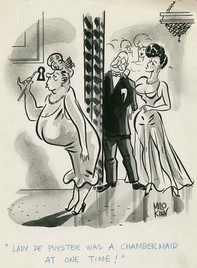 Jack o'Brien and Milo Kinn Girlie Comics