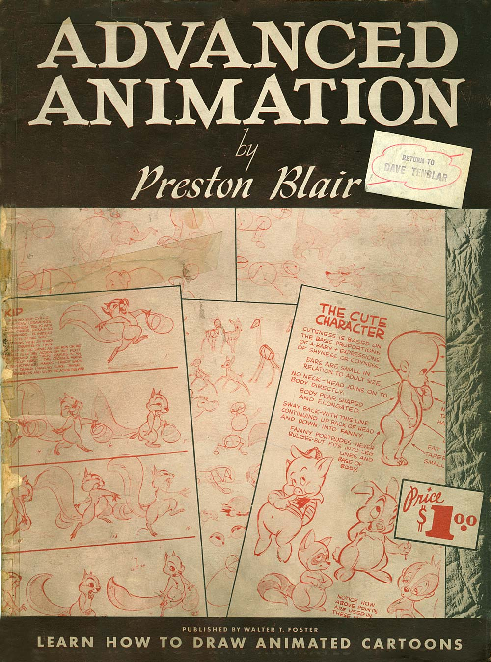 Instruction: Preston Blair's Advanced Animation