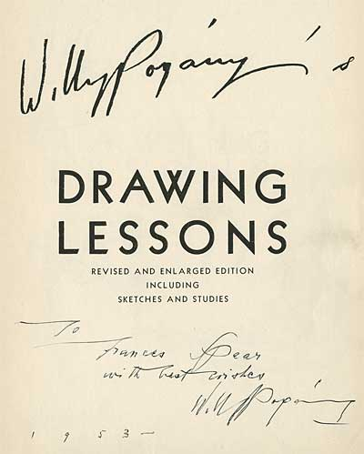 Pogany's Drawing Lessons