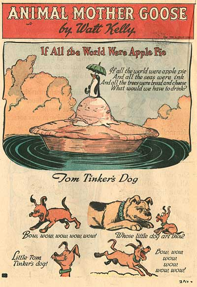 Walt Kelly Animals Mother Goose