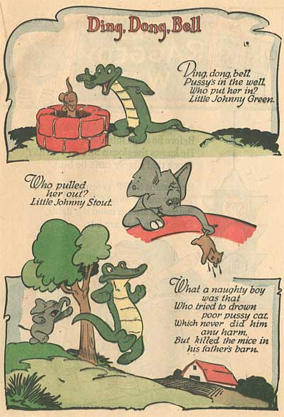 Walt Kelly Animals Mother Goose