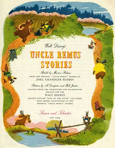 Song of the South Uncle Remus Stories