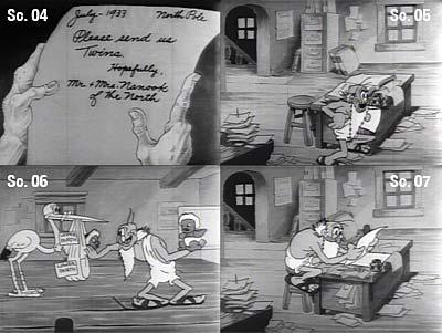 Shuffle Off To Buffalo Storyboard