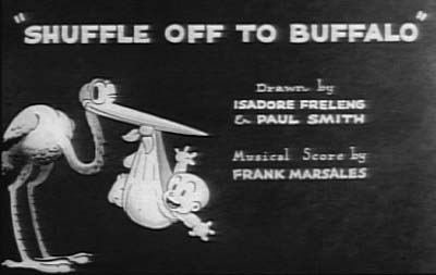Shuffle Off To Buffalo Movie