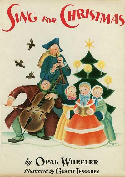 Gustaf Tenggren Sing For Christmas